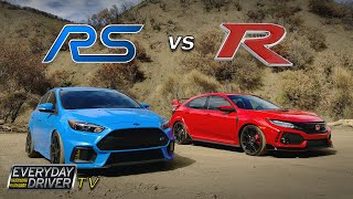 Civic Type-R vs Focus RS - King of the Hot Hatch - TV Season 3 Ep. 3 | Everyday Driver
