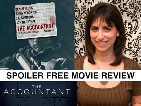 THE ACCOUNTANT – Official Review //Ben Affleck, Anna Kendrick, JK Simmons, Jeffrey Tambor