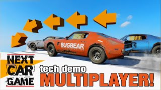 Next Car Game, Tech Demo MULTIPLAYER! - Races, LOLs and Games!