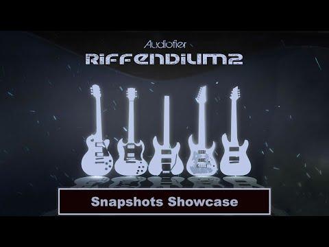 Audiofier RIFFENDIUM 2 - Heavy Guitars - Snapshots Showcase