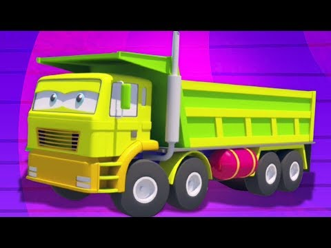 dump-truk- -formasi-dan-penggunaan- -video-untuk-anak-anak- -mainan-bayi- -kids-video- -dump-truck