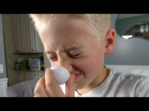 What's inside FARTING Golf Balls?