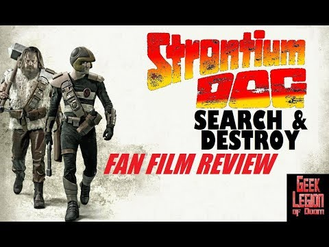 STRONTIUM DOG : SEARCH / DESTROY ( 2017 Matthew Simpson ) 2000 AD Sci-Fi Fan Film Movie Review