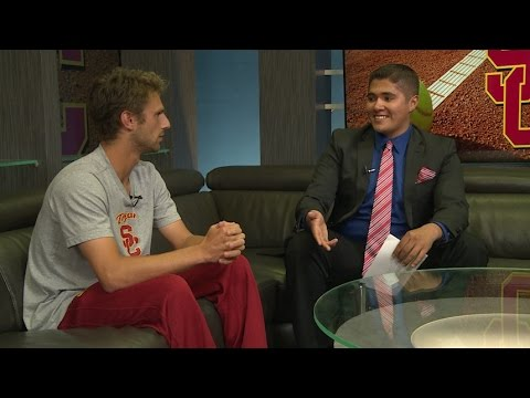 ATVN Sports - In-studio interview with USC Tennis' Nick Crystal