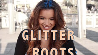 GLITTER ROOTS Hair Tutorial- Zinniah Muñoz
