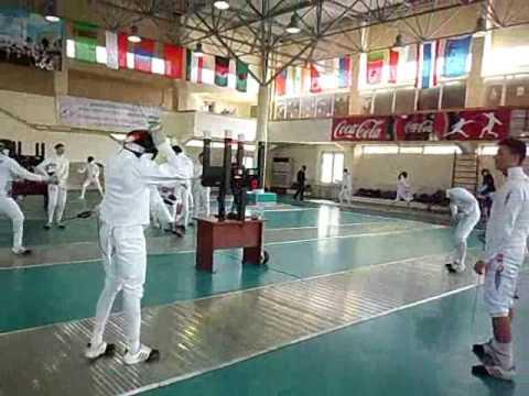 Training comp in Uzbekistan