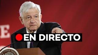 [EN DIRECTO] Mensaje de López Obrador a Trump sobre la frontera con EE.UU.