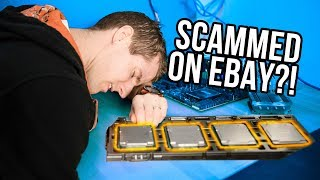 Scammed on ebay... Testing the 56 CORE system!
