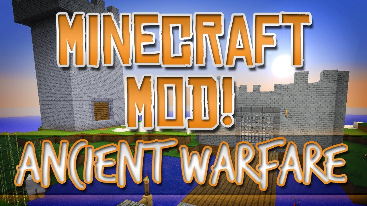Minecraft Mod! Ancient Warfare - Self-building Castles ...