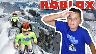 CLIMB MOUNT EVEREST! THE BIGGEST ADVENTURE IN ROBLOX / DISCOVERED DEATH CAVE