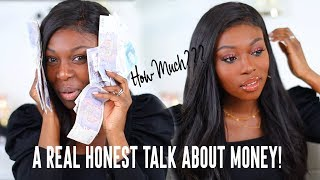 $400+ ON MAKEUP ??? IS THIS TOO EXPENSIVE?..AND A REAL HONEST TALK ABOUT HOW I MAKE MONEY