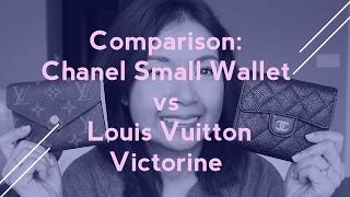 Video Wallet Comparison: CHANEL Small Wallet vs. Louis Vuitton Victorine | LalaLV download MP3, 3GP, MP4, WEBM, AVI, FLV Agustus 2018