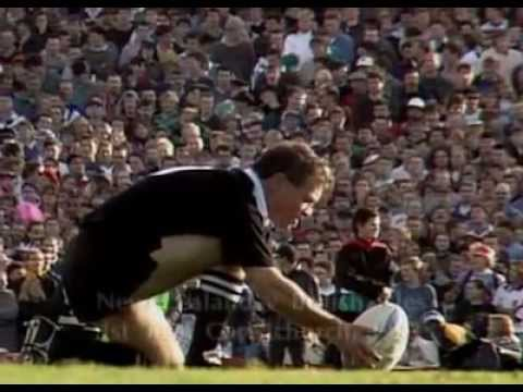 Rugby All Blacks-New Zealand - Legendary Moments