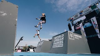 Rizu Vlog №31 - Parkour at World Urban Games in Budapest