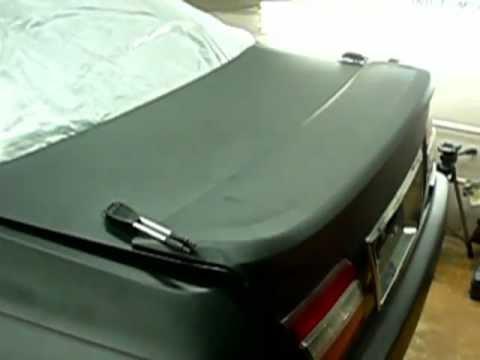 Nissan Cima. Матовая краска или матовая пленка?