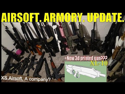 ALL MY GUNS!!! +Releasing my own 3D printed LMG?