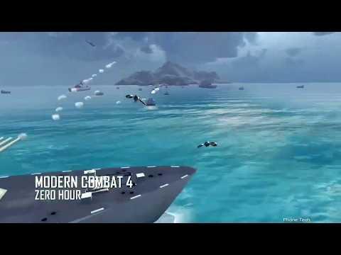 Modern Combat 4 Zero Hour Mod Apk 1.2.3e Unlimited Money