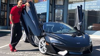 BAD NEWS & GOOD NEWS ABOUT MY BRAND NEW MCLAREN 570S SPIDER!  *UPDATE*