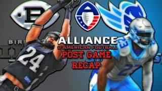 Alliance Of American Football Brimingham Iron vs Salt Lake Stallions Post Game Recap