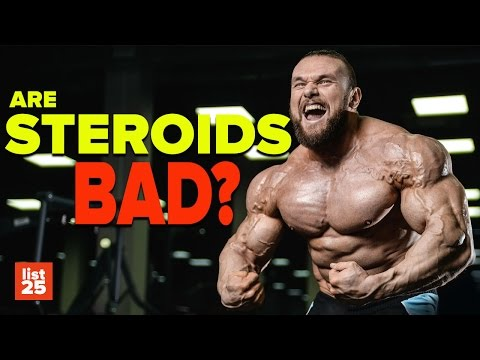 25 MOST AWFUL Side Effects Of Steroid Abuse