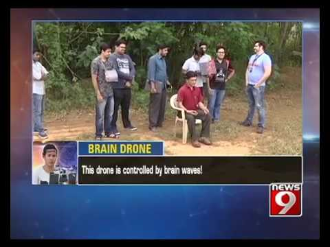 Brain Drone  Flying the   Drone   With Mind   NEWS9