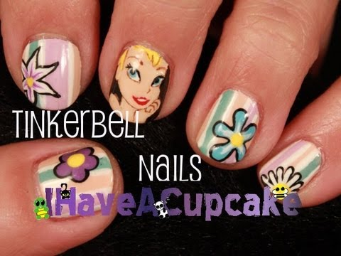 Tinkerbell Nail Art Youtube
