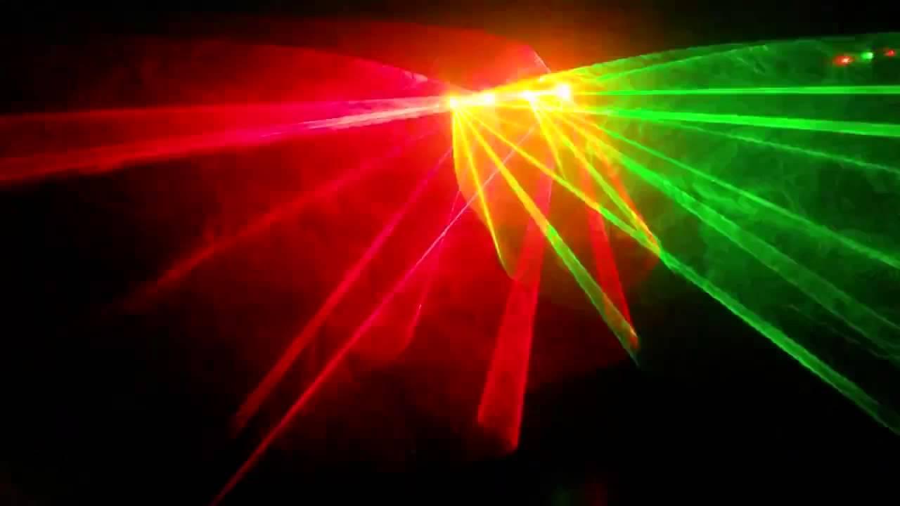 пост картинка лазер в дыму скромной