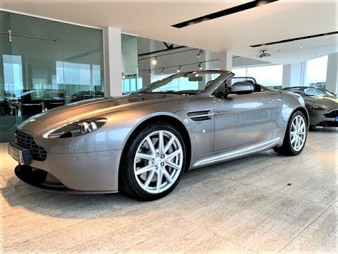 Aston Martin Vantage Roadster Sportshift 2 Hwm Aston Martin Youtube