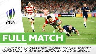 Rugby World Cup 2019: Japan v Scotland