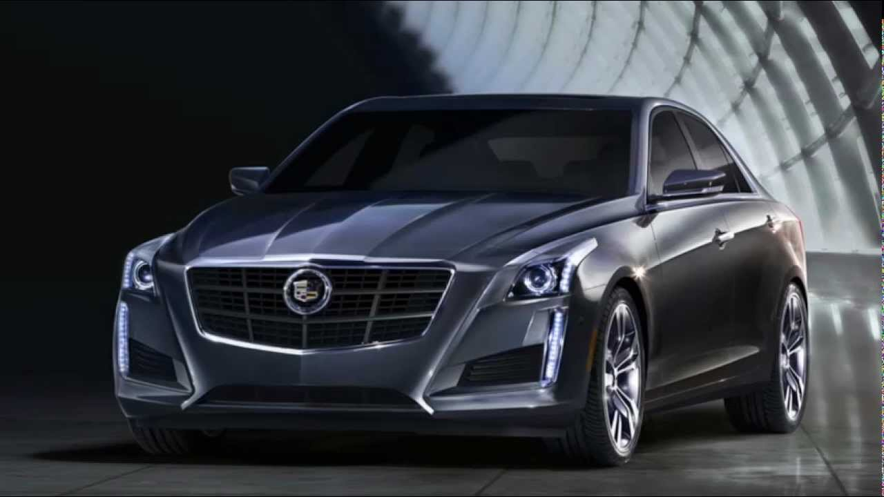 2013 Cadillac Cts Coupe >> 2014 CTS4 Cadillac Breaks Cover: The New York Auto Show (W/Video) - YouTube