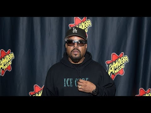 Ice Cube in Hot Water After Revealing He's Working with the Trump ...