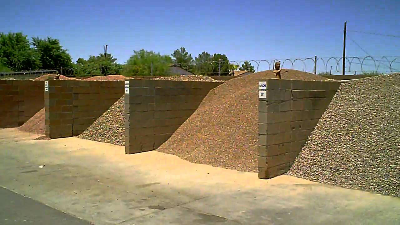Building Landscape Stone : Landscape gravel rock preach building and