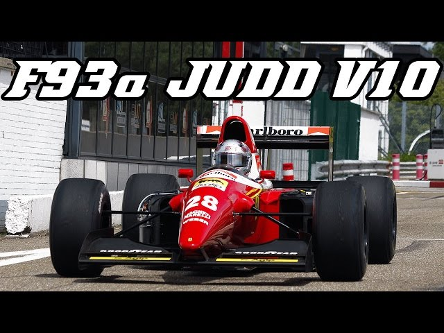 BENETTON B197 JUDD V10 730 hp - Zolder 2017 - YouTube