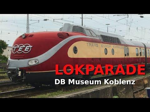 LOKPARADE u.a. TEE/VT 11.5, 103 113 - DB Museum Koblenz 2017