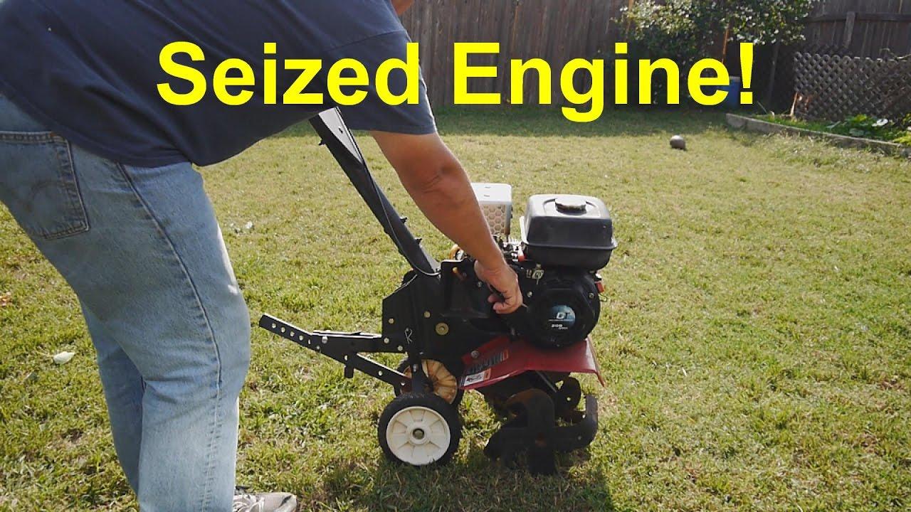 Craftsman Tiller - Seized Engine - LCT, Briggs & Stratton - Most