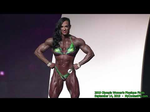 2019 Olympia Women's Physique Finals