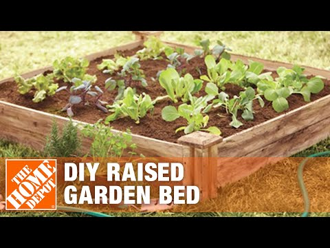 how-to-build-a-raised-garden-bed---diy-raised-garden-beds-|-the-home-depot