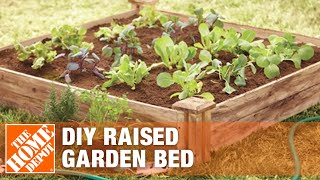 How To Build A Raised Garden Bed - Diy Raised Garden Beds   The Home Depot