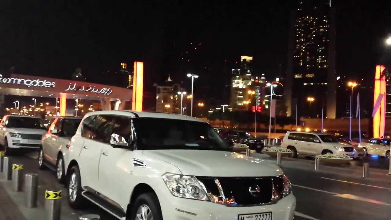Fancy Cars Mall Of Dubai Valet 2014 Youtube