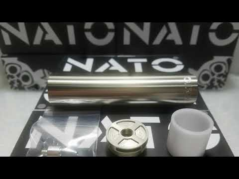 Nato Mechanical Mod By Asylum Mods & Vaperzcloud - Vape Meet