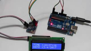 arduino project real time clock rtc tự lm đồng hồ