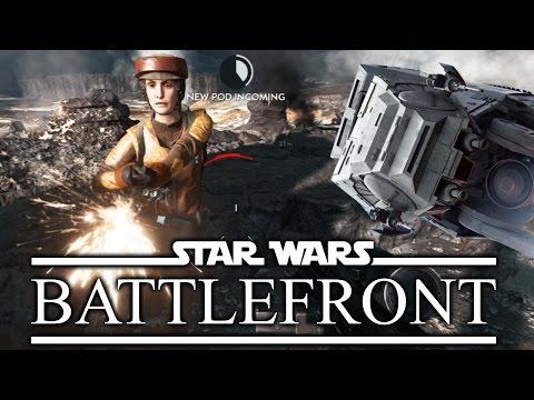 IT HAS ARRIVED - Star Wars Battlefront Beta Gameplay