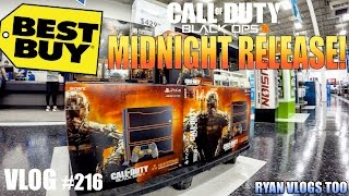 Black Ops 3 Midnight Release At Best Buy With My Son! (vlog #216)