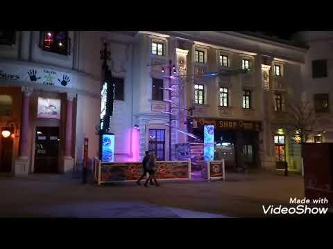 Night Life At Vienna Austria Travel Vlog