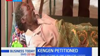 Flood victims sign a petition to force KenGen to compensate them | Business Today
