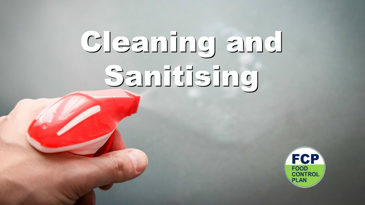 Cleaning and Sanitizing - YouTube