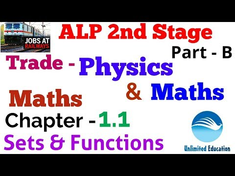 Physics and Maths Trade Lecture For RRB ALP Paper2 | Chapter - 1 1