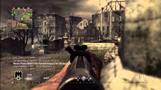 World at War Multiplayer Gameplay - Call of Duty WaW - Ground War w/ Gewehr 43