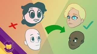 3 Head & Face Drawing Mistakes (& What to Fix)
