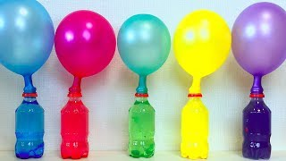 Learn Colors Balloons Bottles Beads and Balls, Learn Colors Pj Masks Wrong Heads Surprise Toys